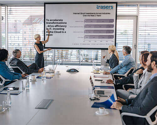 Leverage 1.5 million data points in the Trasers Ab-Initio Digital Transformation Database